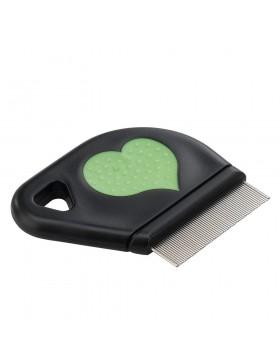 peigne puce coeur gro 5812