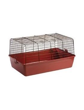 cage lapin sprinters 120 cm bordeaux