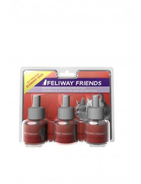 feliway friends  pack 3 recharges