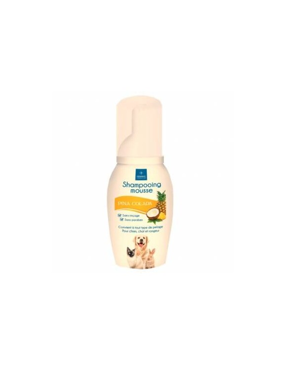 shampooing mousse pina colada