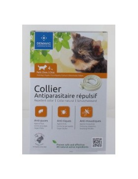 collier insectifuge chiot petit chien