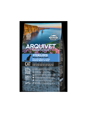 arquivet cat adult sterilised fish 1,5 kg