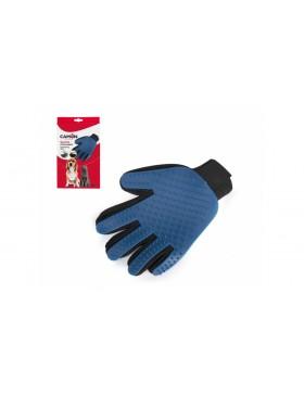 gant de toilettage 5 doigts