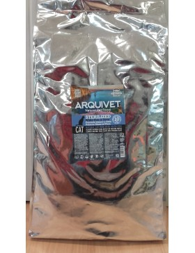arquivet cat sterilized fish 10kg