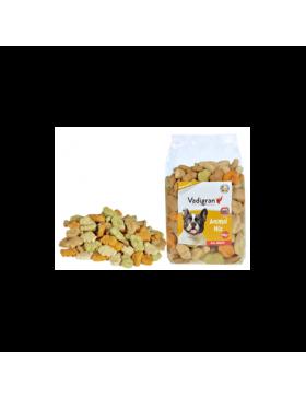 snack chien biscuit animal mix 500gr