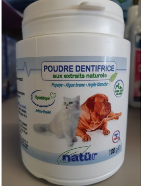 natur poudre dentifrice 100gr