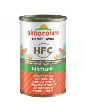almo chat nature hfc poulet chaton 140gr