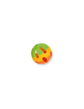 balle plastique avec grelot 8cm
