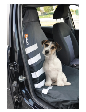 walky front seat cover avec bandes