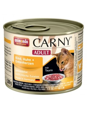 boite ct carny adult poulet canard 200 gr