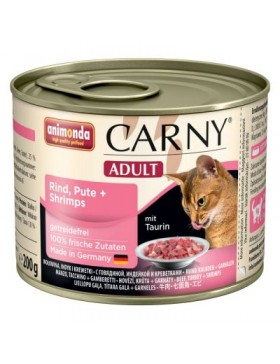 boite ct carny adult dinde crevette 200 gr