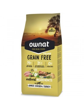 Ownat Prime Grain Free Junior 14kg
