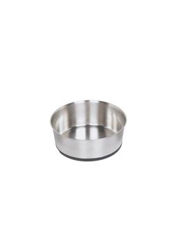 mangeoire inox antiderap 17.50 cm 1.10 L