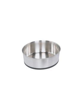 mangeoire inox antiderap 21 cm 1.9 L