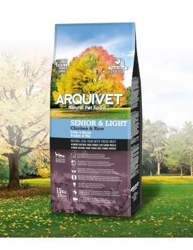 ARQUIVET CHIEN SENIOR&LIGHT 15KG