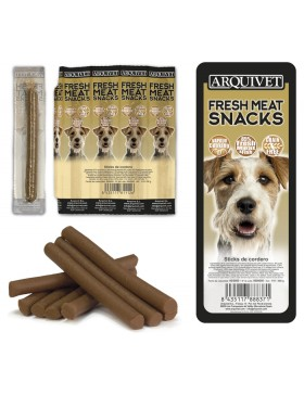 Arquivet fresh meat snacks sticks boeuf par 8