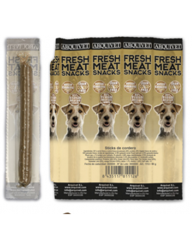 Arquivet fresh meat snacks sticks poisson par 8