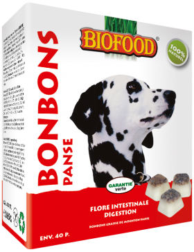 biofood bonbon graisse de mouton maxi 40 pc/ panse