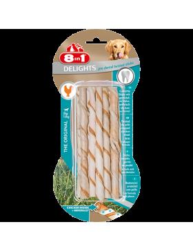 8in1 delights pro dental twisted sticks par 10