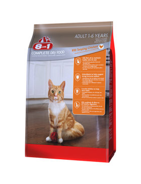 8in1 Food Chat Adult Poulet 900gr