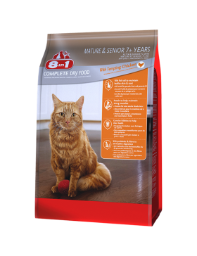 8in1 food chaton poulet 900 gr