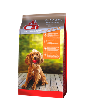 8in1 food chien adult medium 3 kg