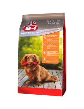 8in1 food chien adult small 3 kg