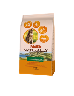 iams naturrally chat adulte agneau 2.7 kg