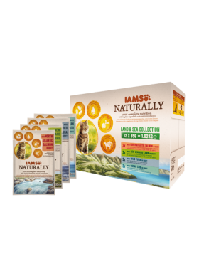 iams naturrally chat terre/mer