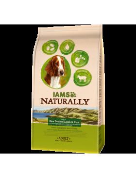 iams naturally chien adult agneau 2.7 kg