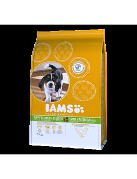 iams chien chiot small/medium 12 kg