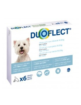 duoflect chien 10-20 kg 6 pipettes