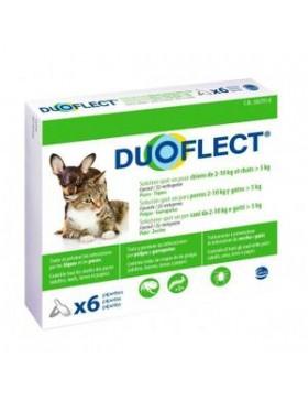 duoflect chien 2-10kg et chat + 5kg 6 pipettes