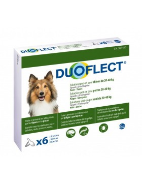 duoflect chien 20-40 kg 6 pipettes
