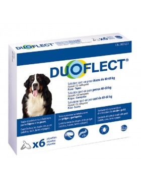 duoflect chien 40-60 kg 6 pipettes