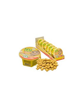 snack chat poulet fromage 60 gr