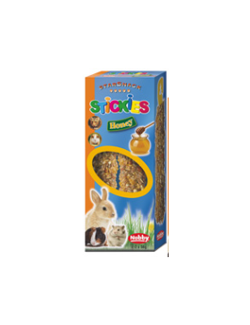 snack rongeur stickies miel 2x56 gr