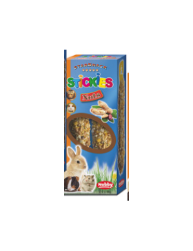 snack rongeur stickies noix 2x56 gr