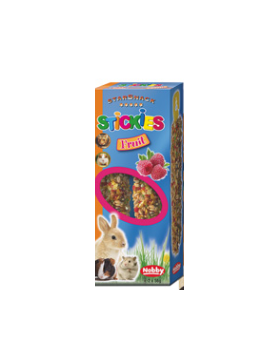 snack rongeur stickies fruit 2x56 gr