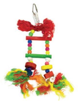 arquivet jouet oiseau escalier multicolore
