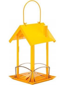 mangeoire ania jaune 12x12x20 cm