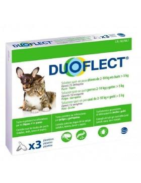 duoflect chien 2-10 kg et chat +5 kg 3 pipettes