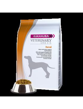 eukanuba veterinary diets chien renal  12 kg