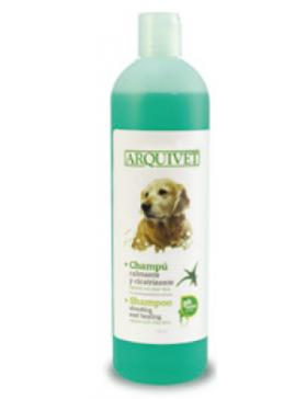 arquivet shampooing calmant et cicatrisant 750 ml